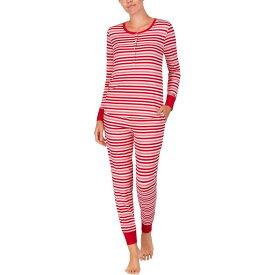 ケイト スペード Kate Spade New York レディース パジャマ・上下セット インナー・下着【Brushed Jersey Jogger Long Pajama Set】Multi Stripe