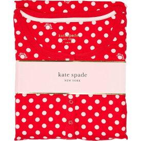 ケイト スペード Kate Spade New York レディース パジャマ・上下セット インナー・下着【Brushed Jersey Jogger Long Pajama Set】Logo Dot