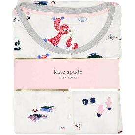 ケイト スペード Kate Spade New York レディース パジャマ・上下セット インナー・下着【Brushed Jersey Jogger Long Pajama Set】Bundled Up