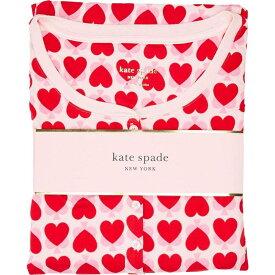 ケイト スペード Kate Spade New York レディース パジャマ・上下セット インナー・下着【Brushed Jersey Jogger Long Pajama Set】Unlock Your Heart
