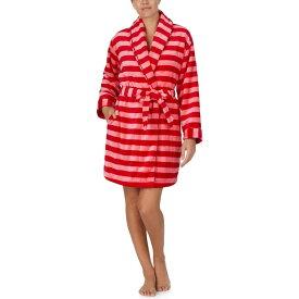 ケイト スペード Kate Spade New York レディース ガウン・バスローブ インナー・下着【Chenille Wrap Robe】Holiday Stripe