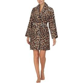 ケイト スペード Kate Spade New York レディース ガウン・バスローブ インナー・下着【Chenille Wrap Robe】Leopard