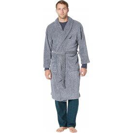ノーティカ Nautica メンズ ガウン・バスローブ インナー・下着【Marled Plush Robe】Navy