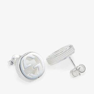グッチ Gucci レディース イヤリング・ピアス スタッドピアス ジュエリー・アクセサリー【Interlocking G Stud Earrings】Silver
