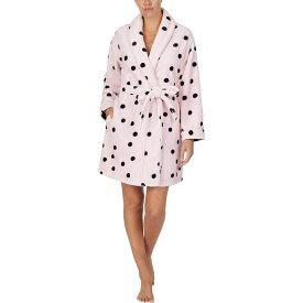 ケイト スペード Kate Spade New York レディース ガウン・バスローブ インナー・下着【Chenille Wrap Robe】Pink Dot