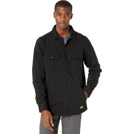 ティンバーランド Timberland PRO メンズ フリース シャツジャケット トップス【Mill River Fleece Shirt Jacket】Jet Black