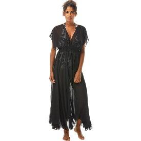 ケイト スペード Kate Spade New York レディース ビーチウェア ワンピース・ドレス 水着・ビーチウェア【Palm Beach Cover-Up Maxi Dress】Black