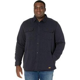 ティンバーランド Timberland PRO メンズ フリース シャツジャケット トップス【Extended Mill River Fleece Shirt Jacket】Dark Navy