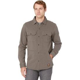 ティンバーランド Timberland PRO メンズ フリース シャツジャケット トップス【Mill River Fleece Shirt Jacket】Pewter