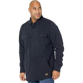 ティンバーランド Timberland PRO メンズ フリース シャツジャケット トップス【Mill River Fleece Shirt Jacket - Tall】Dark Navy