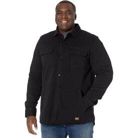 ティンバーランド Timberland PRO メンズ シャツ シャツジャケット トップス【Mill River Fleece Shirt Jacket - Tall】Jet Black