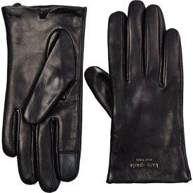 ケイト スペード Kate Spade New York レディース 手袋・グローブ 【Floating Logo Gloves】Black