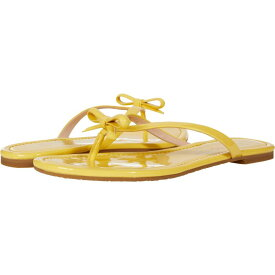 ケイト スペード Kate Spade New York レディース ビーチサンダル シューズ・靴【Petit】Yellow Sesame