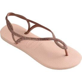 ハワイアナス Havaianas レディース ビーチサンダル シューズ・靴【Luna Premium Flip-Flop】Ballet Rose