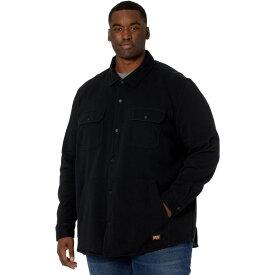 ティンバーランド Timberland PRO メンズ シャツ シャツジャケット トップス【Extended Mill River Fleece Shirt Jacket】Jet Black