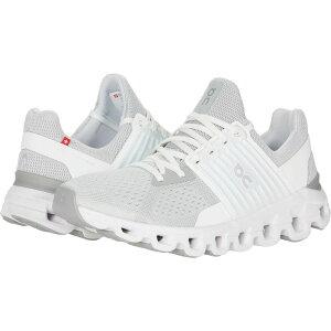 オン On レディース ランニング・ウォーキング シューズ・靴【Cloudswift】Glacier/White
