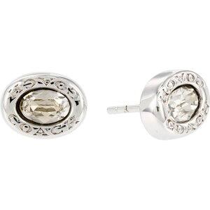 コーチ COACH レディース イヤリング・ピアス スタッドピアス ジュエリー・アクセサリー【Signature Logo Stud Earrings】Crystal