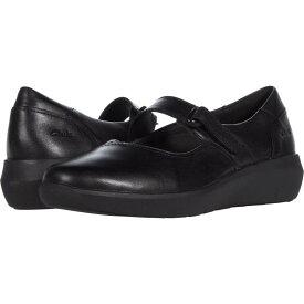 クラークス Clarks レディース スリッポン・フラット シューズ・靴【Kayleigh Mill】Black Leather