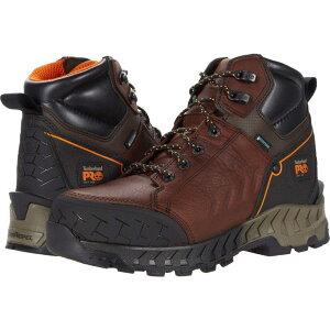 ティンバーランド Timberland PRO メンズ ブーツ シューズ・靴【Work Summit 6' Soft Toe Waterproof】Brown