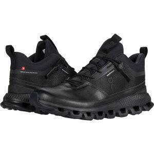 オン On レディース ランニング・ウォーキング シューズ・靴【Cloud Hi Waterproof】All Black