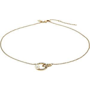 コーチ COACH レディース ネックレス ジュエリー・アクセサリー【Pearl Interlock Pendant Necklace】Pearl