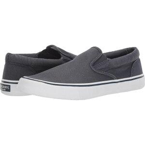 スペリートップサイダー Sperry メンズ スリッポン・フラット スニーカー シューズ・靴【Striper II Slip-On Sneaker】SW Navy