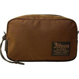 フィルソン Filson レディース ポーチ 【Travel Pack】Whiskey
