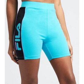 フィラ Fila レディース 自転車 ショートパンツ ボトムス・パンツ【Trina Bike Shorts】Blue/Black/Purple