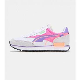 プーマ Puma メンズ ランニング・ウォーキング シューズ・靴【Future Rider Twofold】White/Grey/Pink/Purple