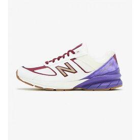 ニューバランス New Balance メンズ ランニング・ウォーキング シューズ・靴【990 V5】Beige/Purple/Burgundy/Gold