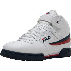 フィラ Fila メンズ バスケットボール スニーカー シューズ・靴【F13 Sneaker】White/Navy/Red