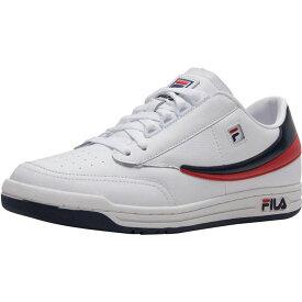 フィラ Fila メンズ バスケットボール スニーカー シューズ・靴【Original Tennis Sneaker】White/Navy/Red