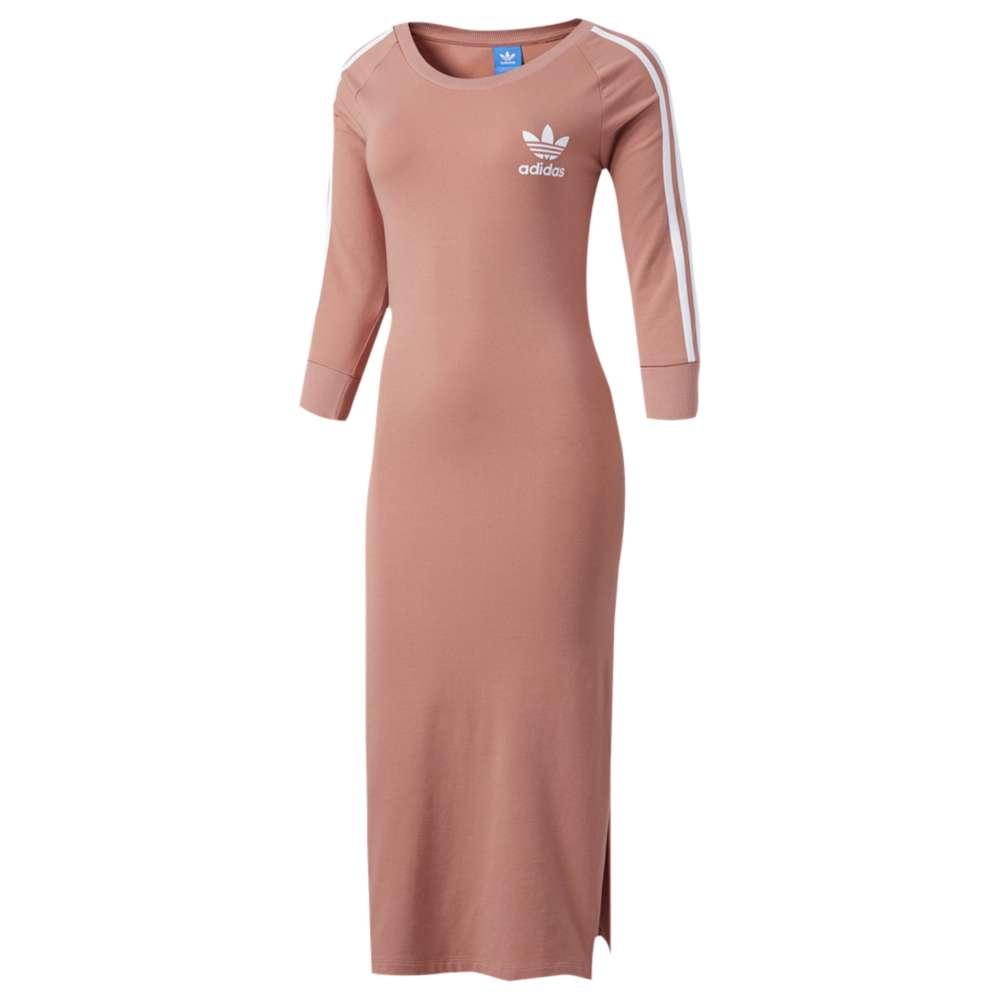 アディダス レディース ワンピース・ドレス ワンピース【adidas Originals Three Stripes Dress】Raw Pink
