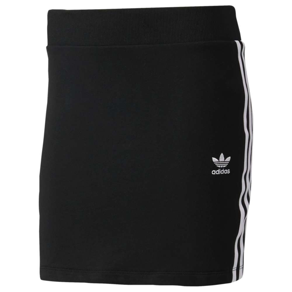 アディダス レディース スカート【adidas Originals 3-Stripes Skirt】Black/White