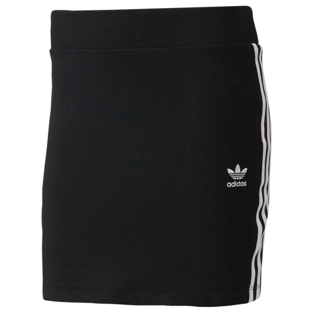 アディダス レディース スカート【adidas Originals 3-Stripes Skirt】Black/White
