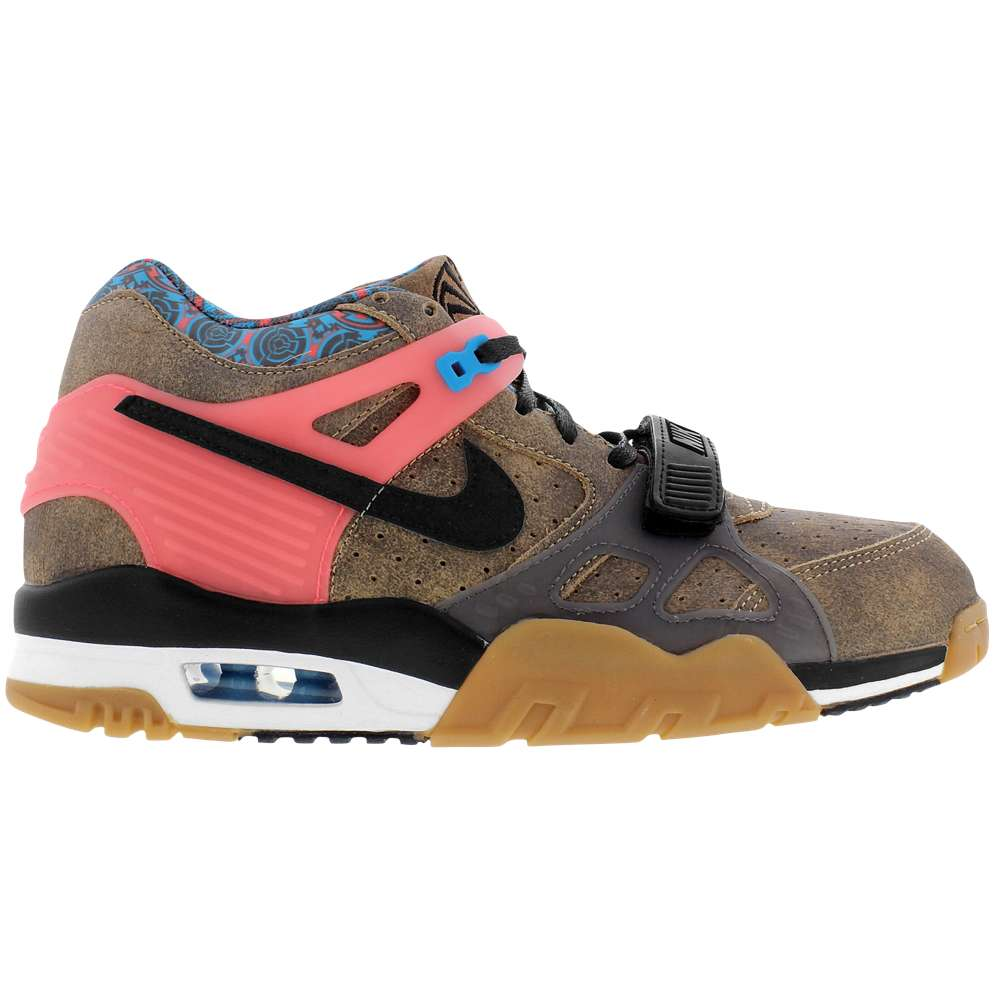 ナイキ メンズ シューズ・靴 スニーカー【Nike Air Trainer 3】Vachetta Tan/Black/Hot Lava/Blue Lagoon