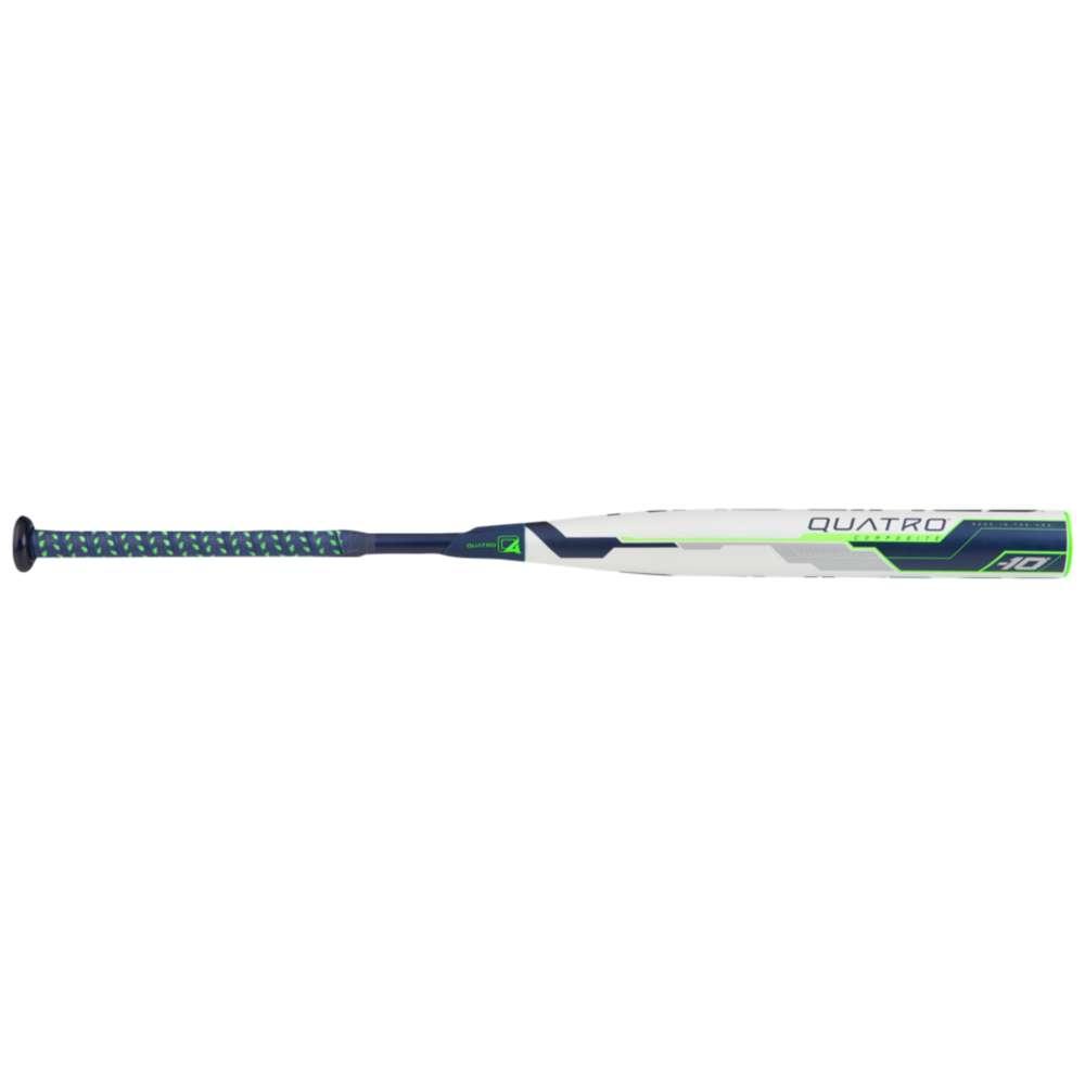 ローリングス レディース 野球【Rawlings Quatro Fastpitch Bat】White/Navy
