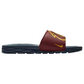 ナイキ メンズ シューズ・靴 サンダル【Nike Benassi Solarsoft NBA Slide】Team Red/University Gold/College Navy