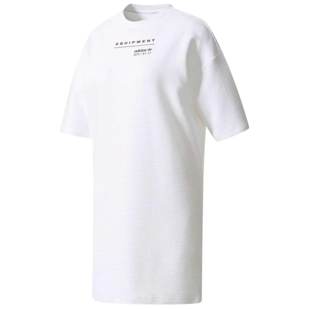 アディダス レディース ワンピース・ドレス ワンピース【adidas Originals EQT T-Shirt Dress】White