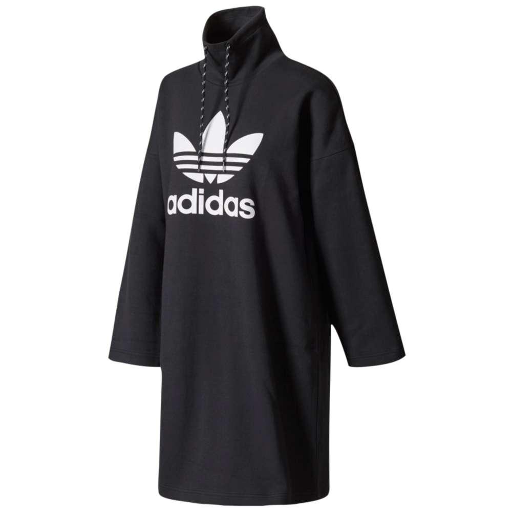 アディダス レディース ワンピース・ドレス ワンピース【adidas Originals Pharrell High Neck Loose Dress】Black
