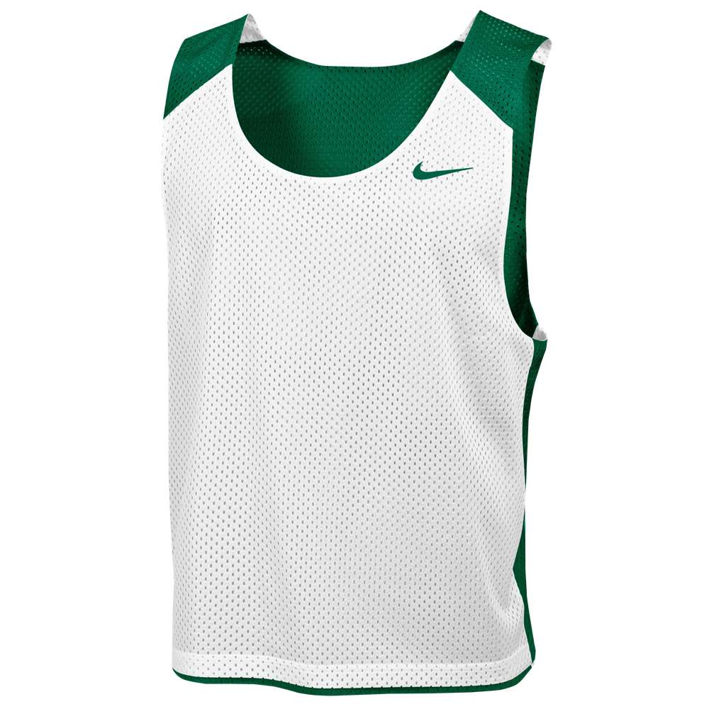 ナイキ メンズ ラクロス トップス【Nike Team Reversible Mesh Tank】Team Dark Green/White/Team Dark Green