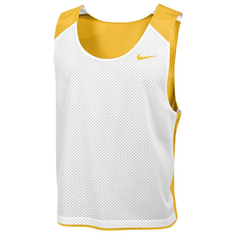 ナイキ メンズ ラクロス トップス【Nike Team Reversible Mesh Tank】Team Bright Gold/White/Team Bright Gold