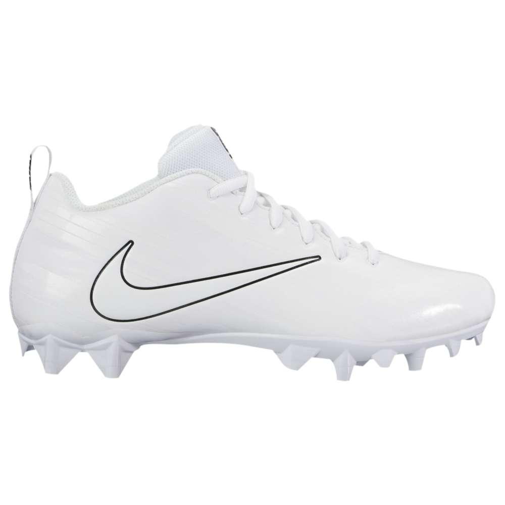 ナイキ メンズ ラクロス シューズ・靴【Nike Vapor Varsity Low LAX】White/White/Black