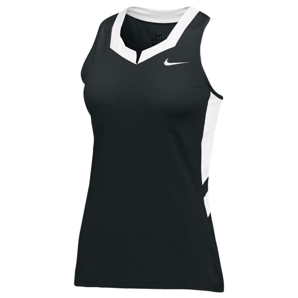 ナイキ レディース ラクロス トップス【Nike Team Untouchable Speed Jersey】Black/White