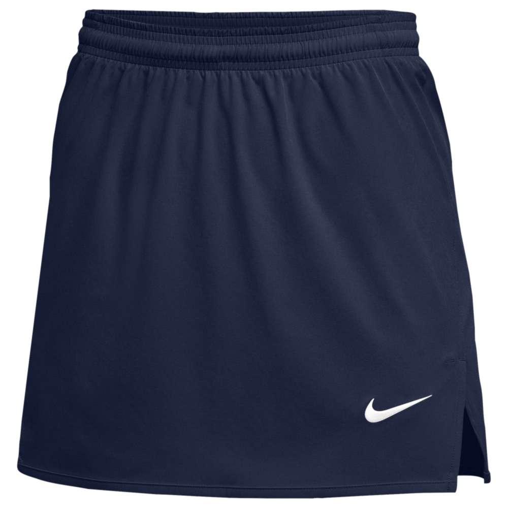 ナイキ レディース ラクロス ボトムス・パンツ【Nike Team Untouchable Speed Kilt】Navy/White
