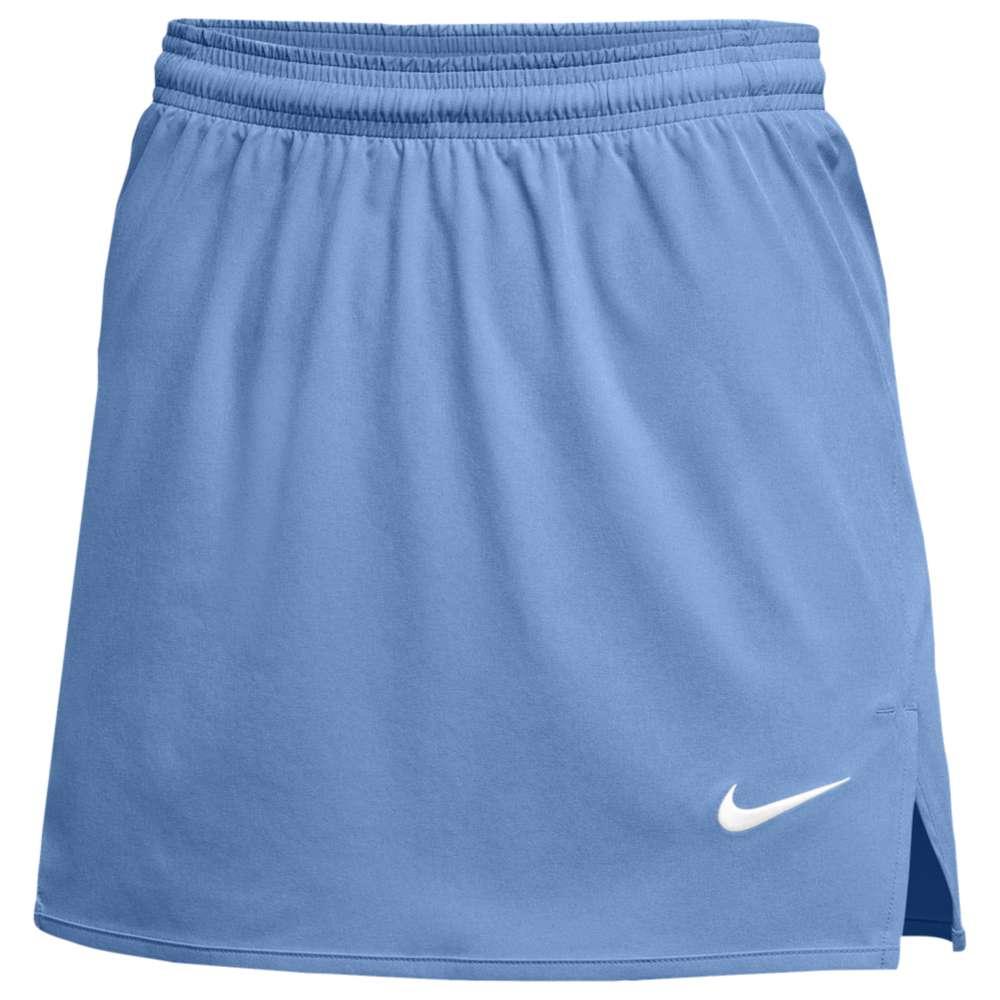 ナイキ レディース ラクロス ボトムス・パンツ【Nike Team Untouchable Speed Kilt】Light Blue/White