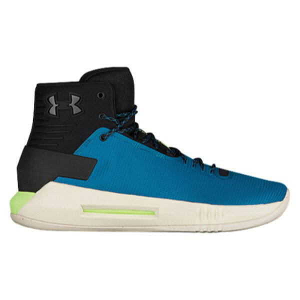 アンダーアーマー メンズ バスケットボール シューズ・靴【Under Armour Drive 4】Black/Bayou Blue/Quirky Lime