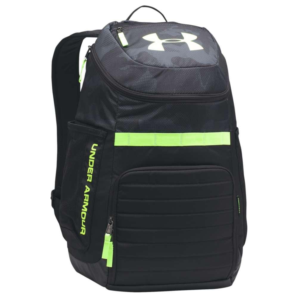 アンダーアーマー ユニセックス バッグ バックパック・リュック【Undeniable Backpack 3.0】Stealth Gray/Black/Quirky Lime