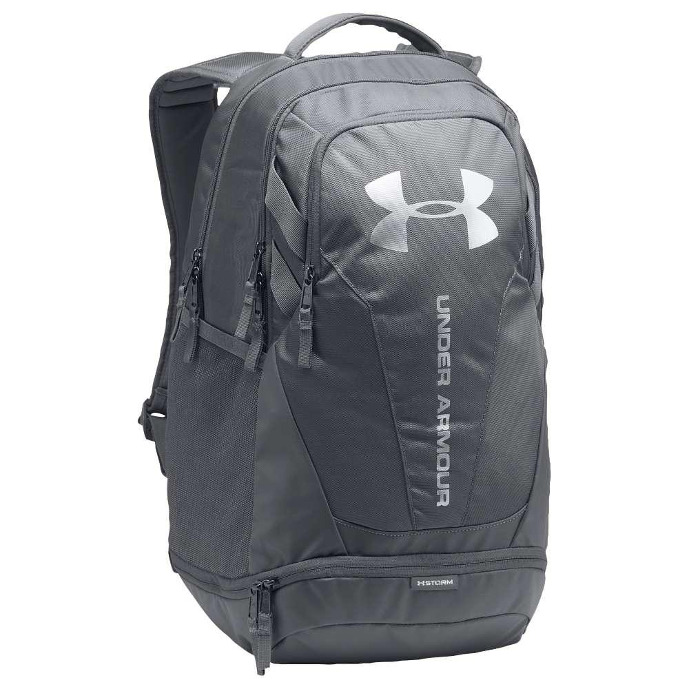 アンダーアーマー ユニセックス バッグ バックパック・リュック【Hustle Backpack 3.0】Graphite/Graphite/Silver