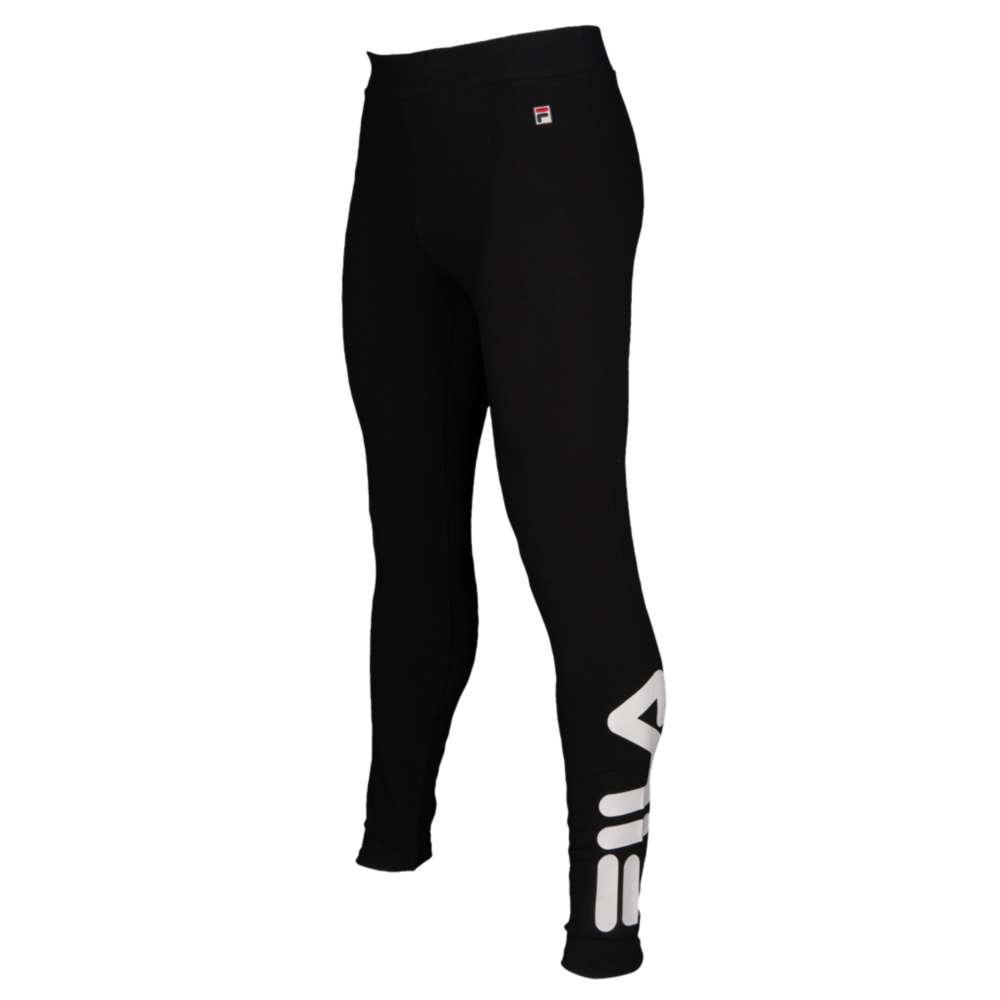 フィラ レディース インナー・下着 スパッツ・レギンス【Imelda Side Print Leggings】Black/White